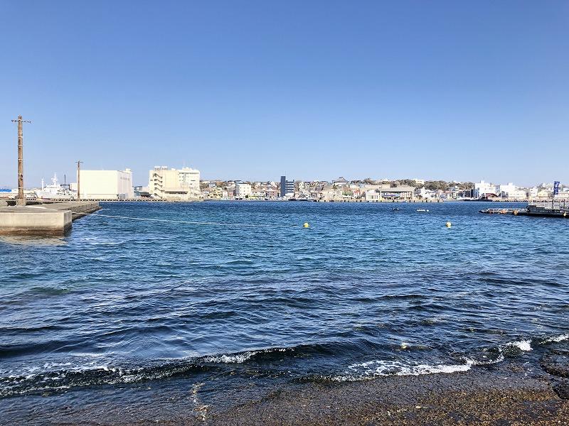 城ケ島の海