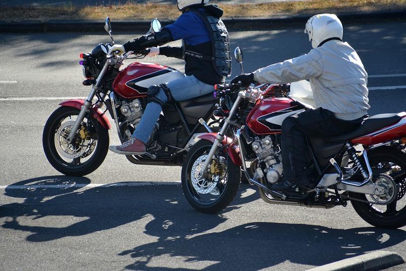 教習所のバイク