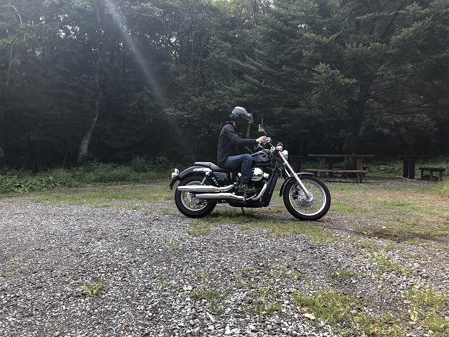 バイクに乗る初心者