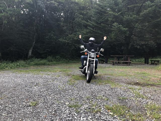 バイク乗りのヤエー