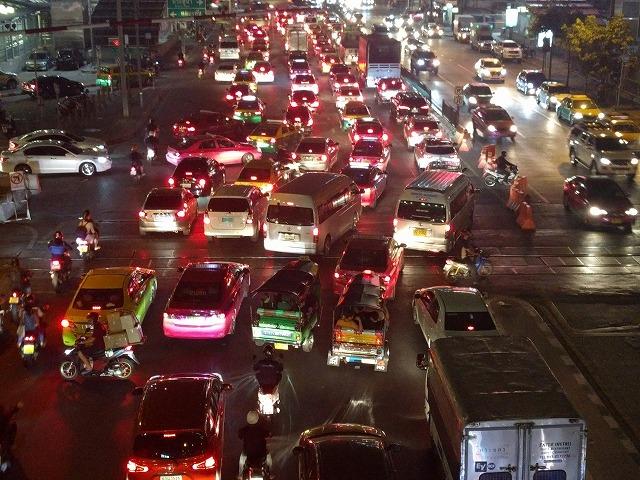 ひどい渋滞
