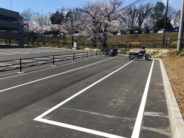 はなびより駐輪場