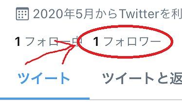 フォロワー1