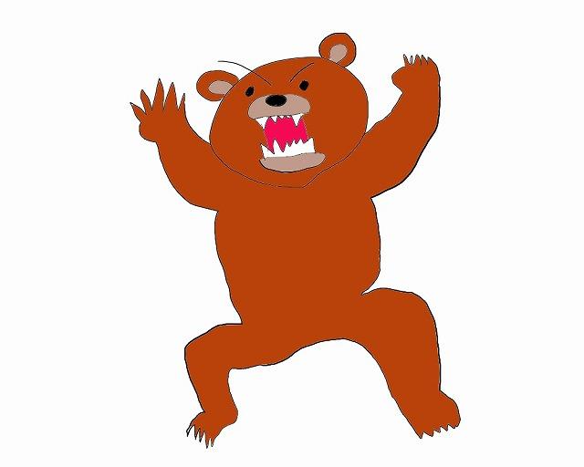 小梨平キャンプ場のクマ