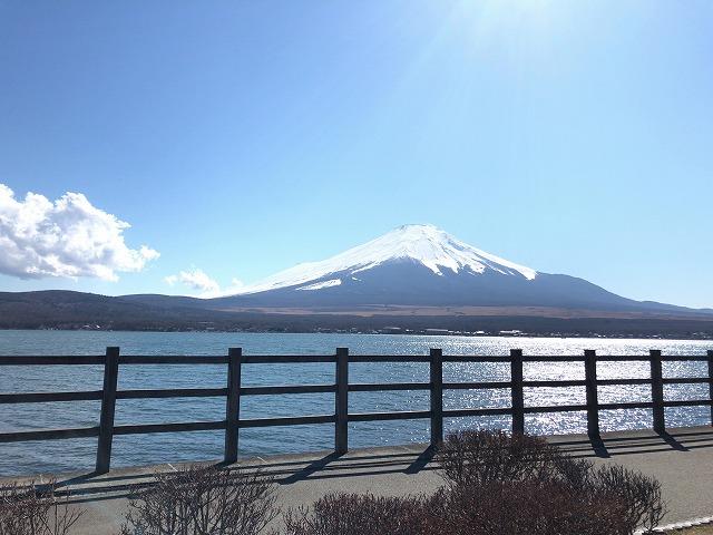 富士山が見える時間帯