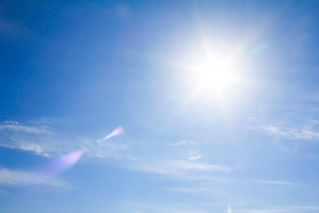 暑い日にバイクで扇風機