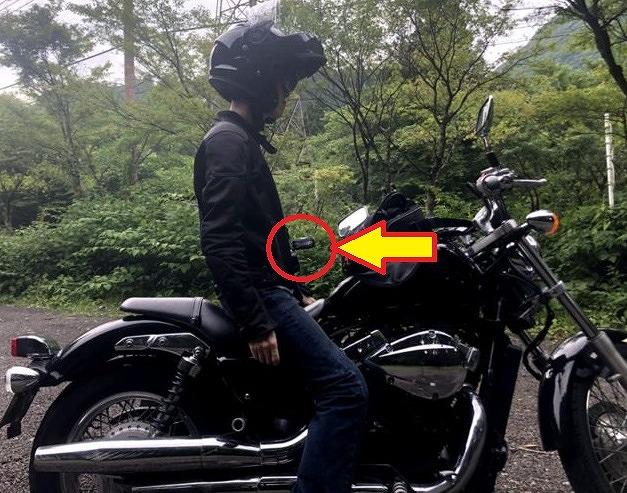 バイクで扇風機を使う