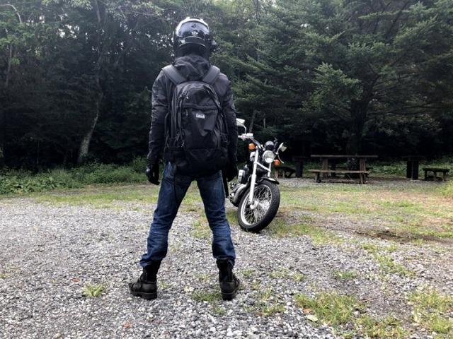 バイクにおすすめのリュック