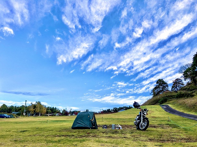 花の里キャンプ場(長野県)