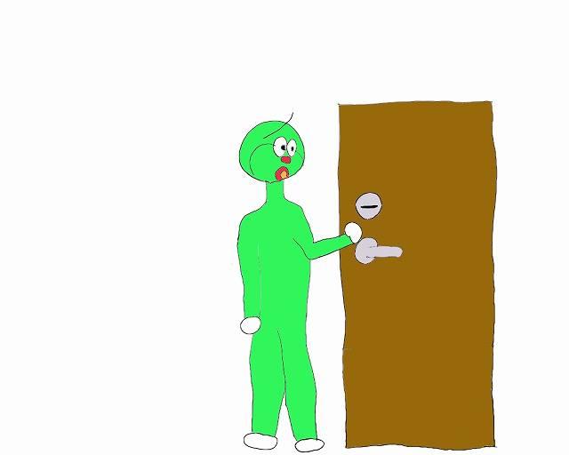 ビジホあるあるドアが開かない